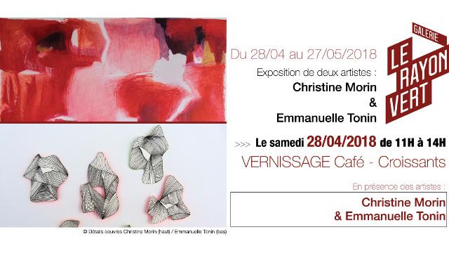 Exposition de Christine Morin au Rayon Vert (Nantes)